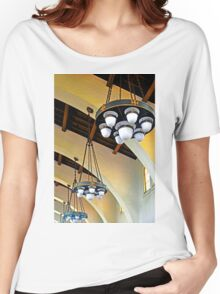 SAN DIEGO SANTA FE RAILROAD STATION Women's Relaxed Fit T-Shirt
