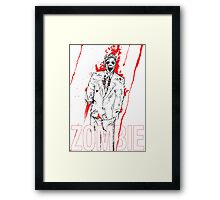 Zombie Office party Framed Print