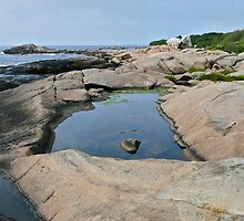 Shapes Along The Shore - Blackpoint  -Narragansett, RI by Jack McCabe