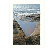 Shapes Along The Shore - Blackpoint  -Narragansett, RI  (b) Art Print