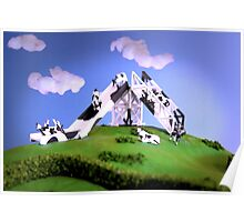 Cow Slide Poster