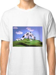 Cow Slide Classic T-Shirt