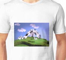 Cow Slide Unisex T-Shirt