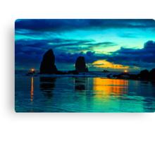 Oceans Light Canvas Print