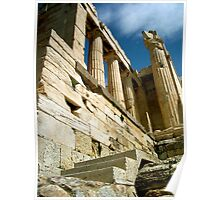 Columns of Athens, Greece Poster