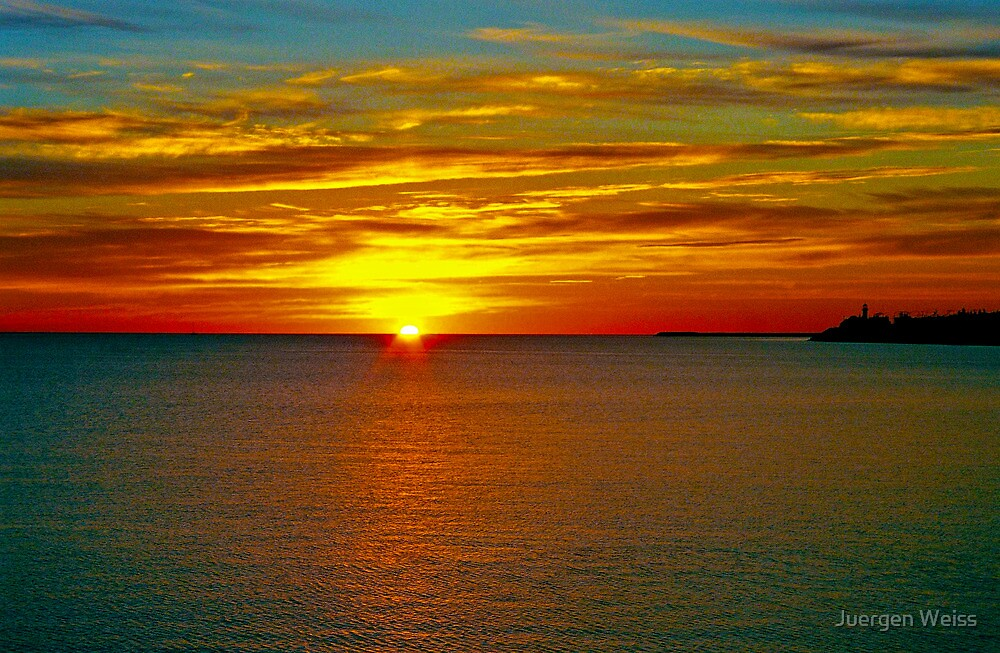 Sunrise at Matane by Juergen Weiss