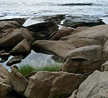 Shapes Along The Shore - Blackpoint  -Narragansett, RI  (c) by Jack McCabe