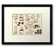 Coffee Coffee Coffee Framed Print