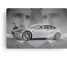 Tesla Metal Print