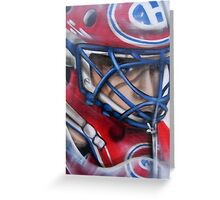 Patrick Roy Greeting Card