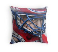 Patrick Roy Throw Pillow