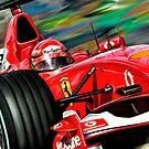 Michael Schumacher Ferrari by davidkyte