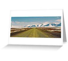 Dempster Highway (Yukon) Greeting Card