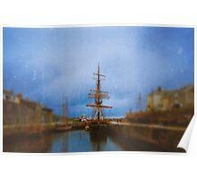 Little Tall Ship Poster