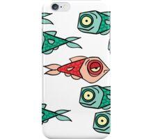 Grump in a School of Happy Fish iPhone Case/Skin