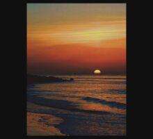 Sun Over The Sea One Piece - Short Sleeve
