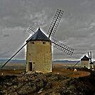 Windmills - Consuegra by Juergen Weiss