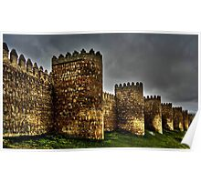 Town Walls - Avila Poster