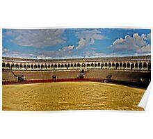 Arena de Torros - Sevilla Poster