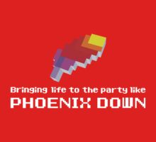 Bringing Life to the Party Like Phoenix Down Kids Tee