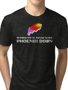 Bringing Life to the Party Like Phoenix Down Tri-blend T-Shirt