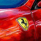 Ferrari Badge by davidkyte