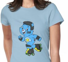 Roller Derby Care Bear (Jammer Bear) Womens Fitted T-Shirt