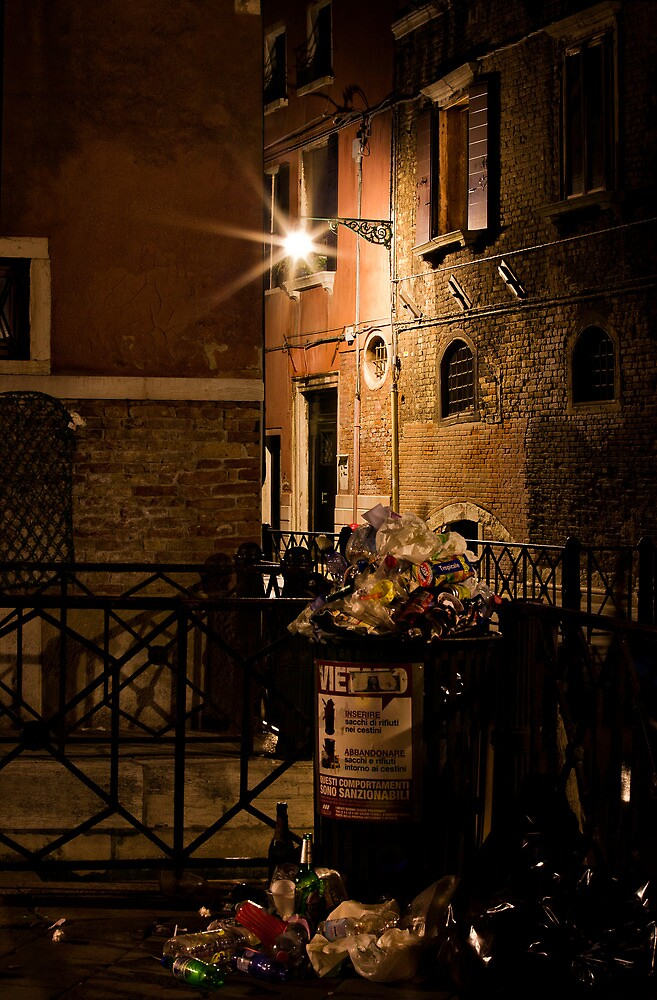 Gathering Place- Venice Trash by vividpeach
