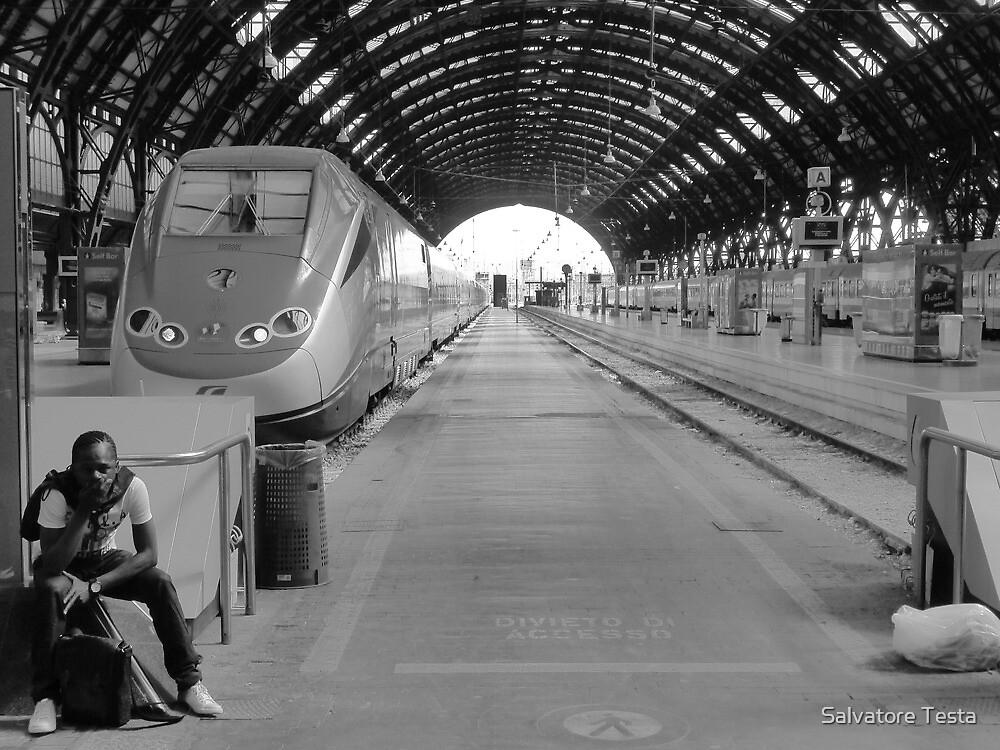 Morning Train by Salvatore Testa