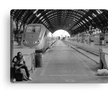 Morning Train Canvas Print
