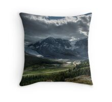 Columbia Glacier  Throw Pillow