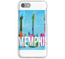 Memphis Music Scene iPhone Case/Skin