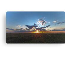 Moosecreek sun down - HDR Canvas Print