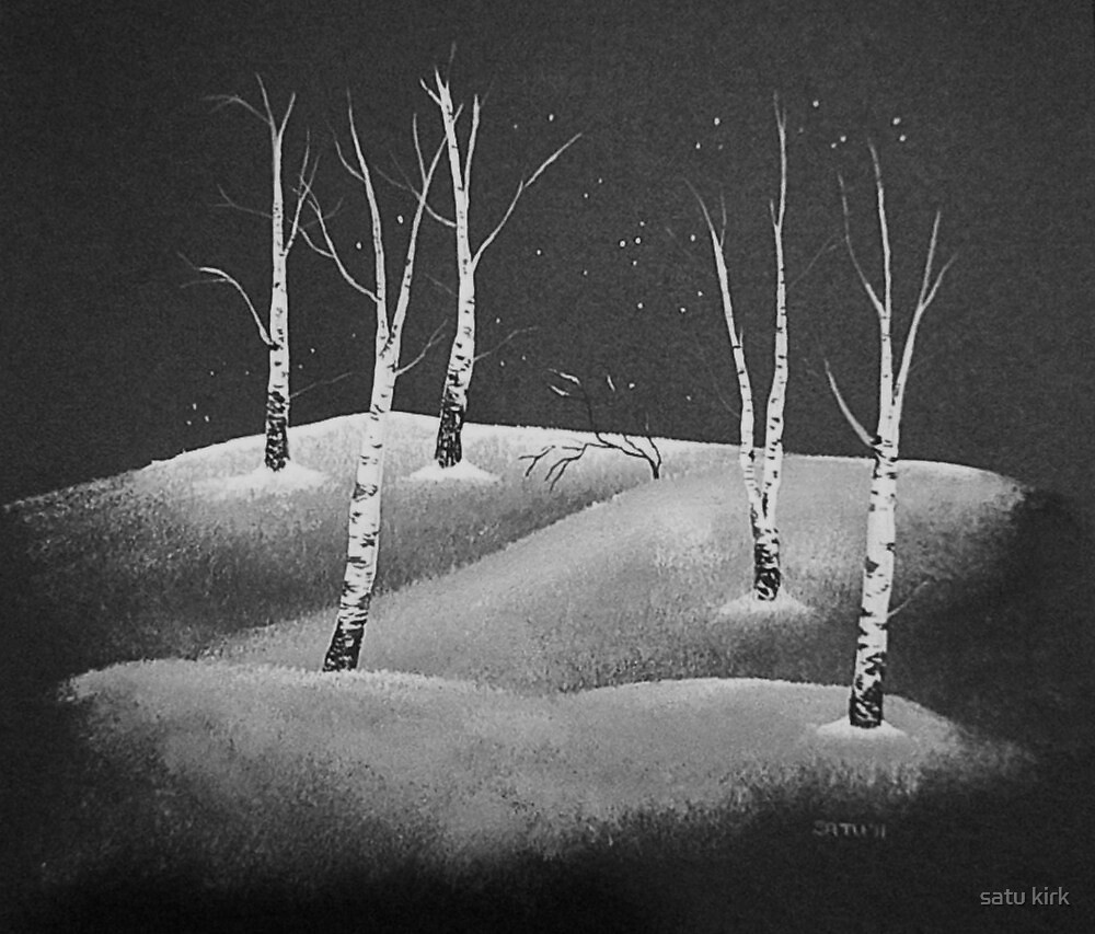 Snow Drifts by satu kirk