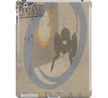 Portal Game Poster iPad Case/Skin