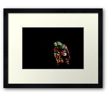Photo Projection #2 Framed Print