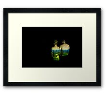 Photo Projection #8 Framed Print