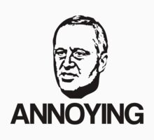 John Key. Annoying. by jezkemp