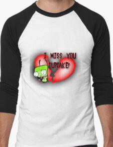 I Miss You Cupcake Men's Baseball ¾ T-Shirt