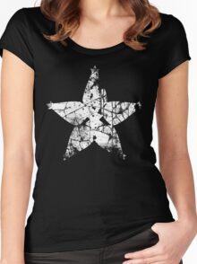 Kingdom Hearts Wayfinder grunge Women's Fitted Scoop T-Shirt