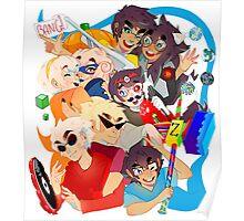 Homestuck- Pumped Up Kids Poster
