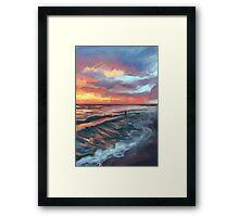 Captiva Sunset Framed Print