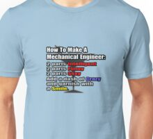 How To Make A Mechanical Engineer Unisex T-Shirt