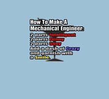 How To Make A Mechanical Engineer Unisex T-Shirt