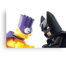 Batman v Bartman: Copyright Infringement Canvas Print