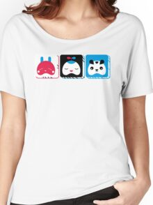 rabbit, kid and bear Women's Relaxed Fit T-Shirt
