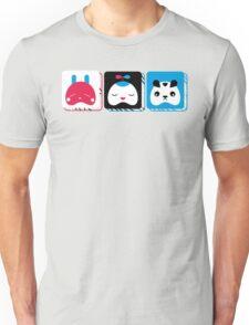 rabbit, kid and bear Unisex T-Shirt