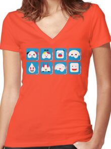 bugs Women's Fitted V-Neck T-Shirt