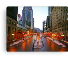 Montreal, Canada Canvas Print