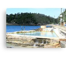 Fairy Bower Pool, Manly Metal Print